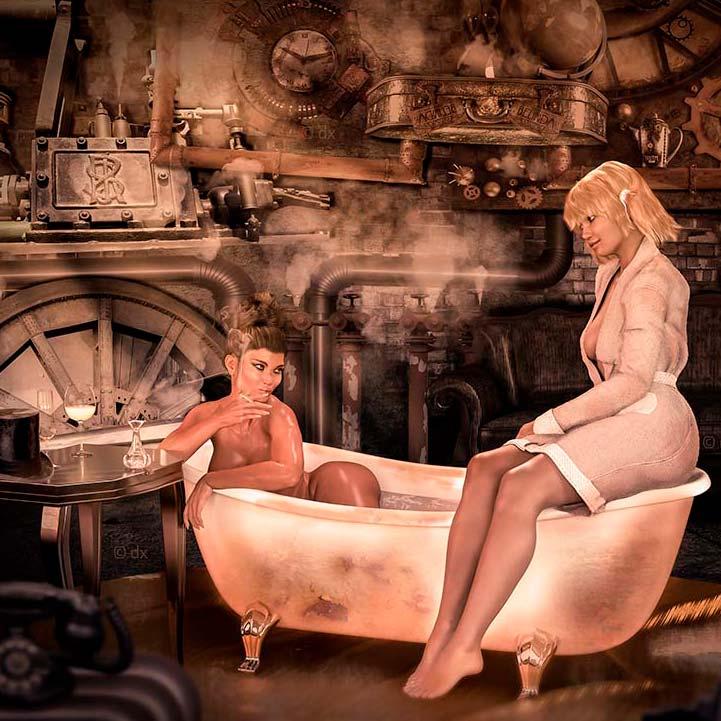Steampunk – uralt und hochmodern.