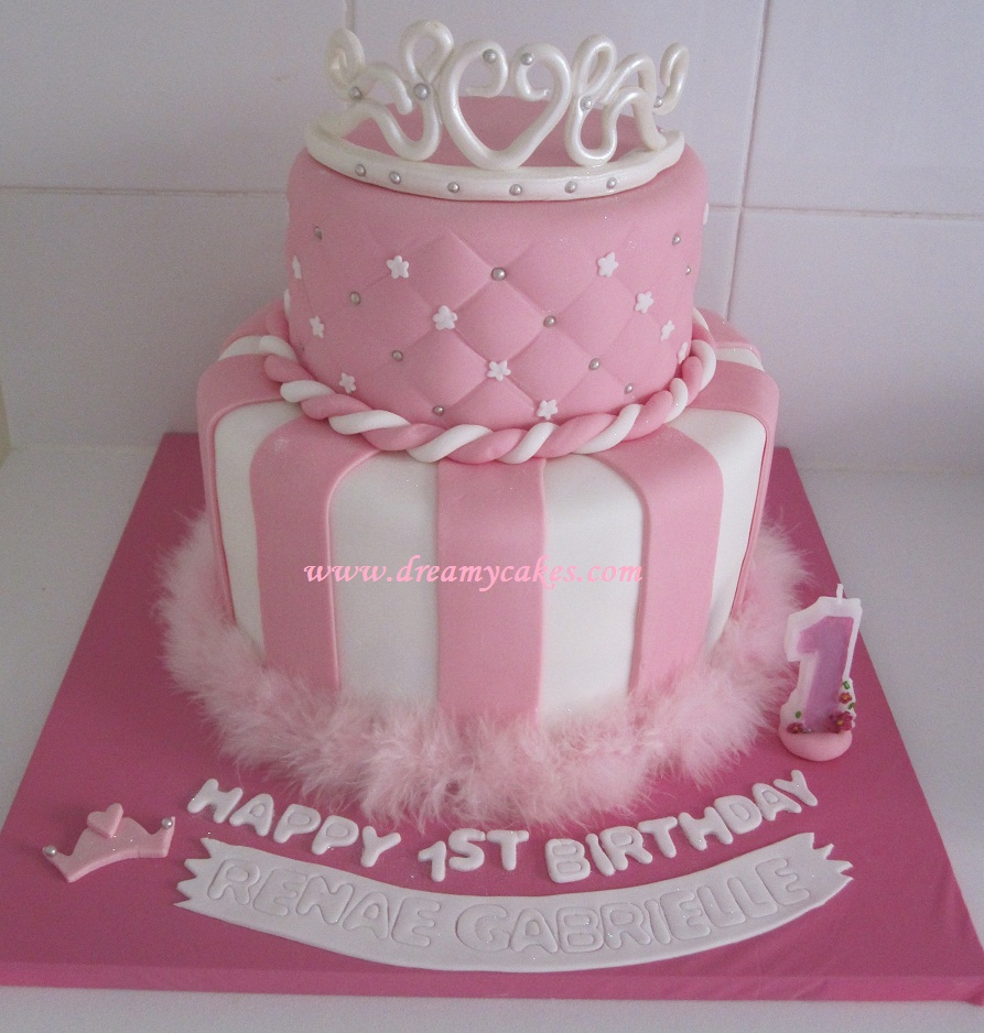 Princess Cake Designs For The Little Girl Who Loves All Things