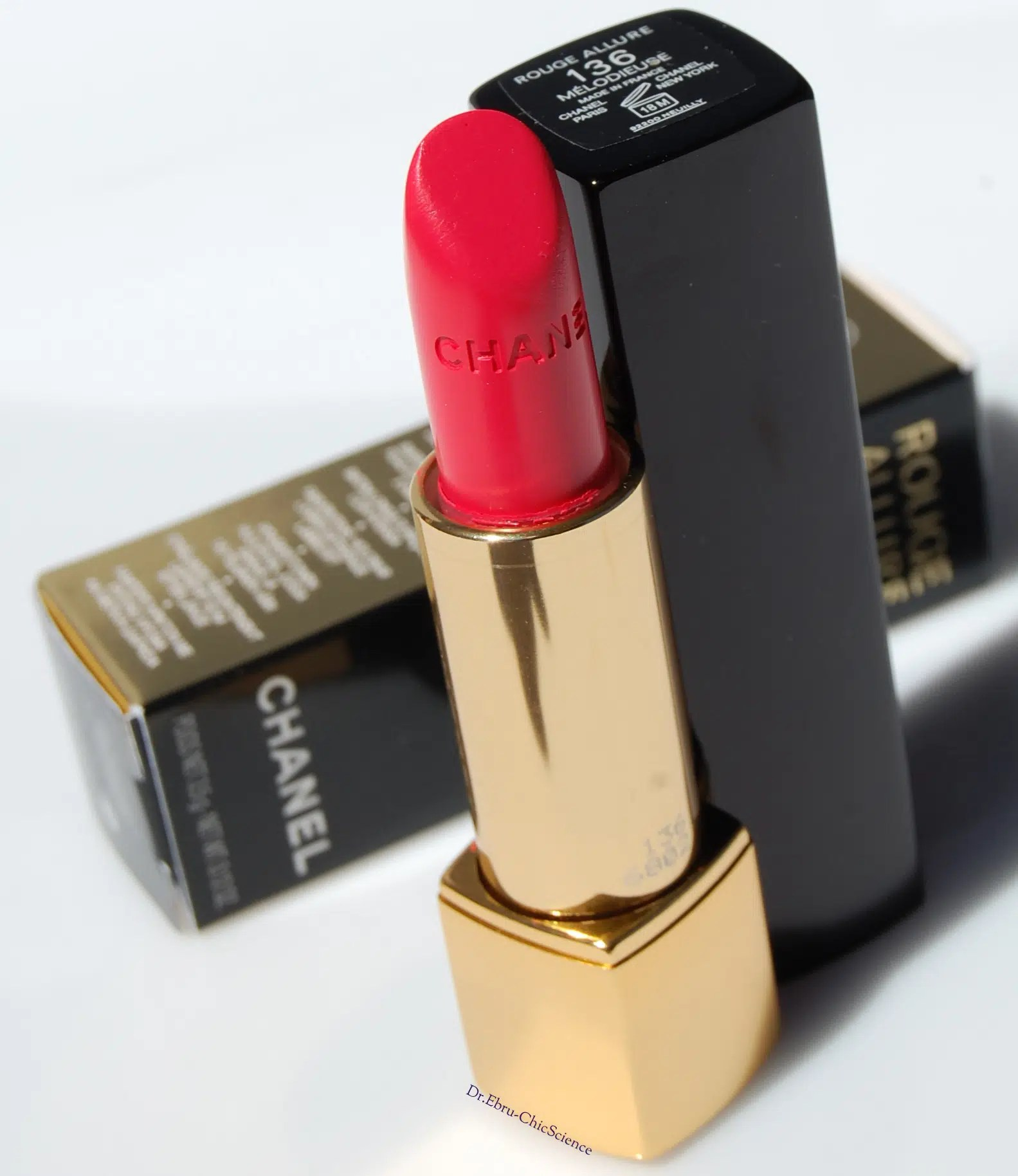 Chanel Rouge Allure Melodieuse Lipstick Reviews Photos And