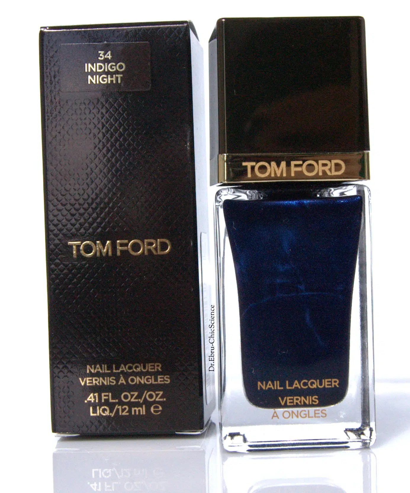 Tom Ford Nail Lacquer in Indigo Night: Review, Swatches, Ingredients ...