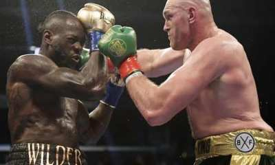 Deontay Wilder Makes Excuses For Loss To Tyson Fury
