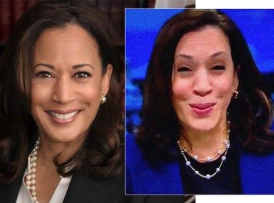 VP Candidate Kamala Harris Unveils 'Tragic' Face After Botched Facelift