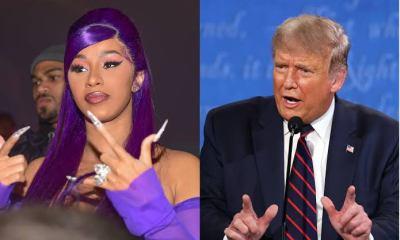 Cardi B Reacts To Donald Trump's Second Impeachment