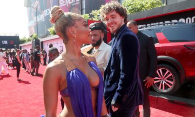 Watch The Moment Jack Harlow Flirted With Saweetie At The BET Awards