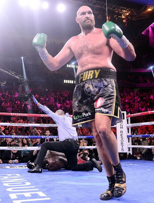 Tyson Fury & His Children N-Word Video Resurfaces After Victory Over Deontay Wilder