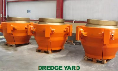 Dredge Yard delivers heavy duty ball joints to Van Oord