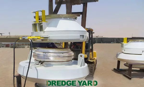 Dredge Yard tests & delivers bow coupling system