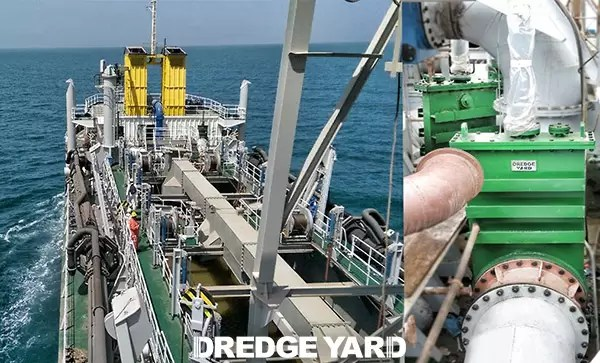 Reliable gate valves to upgrade dredgers