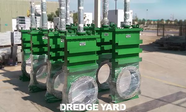 Dredge valves lauched by Dredge Yard