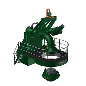 Dredge Yard bow coupling
