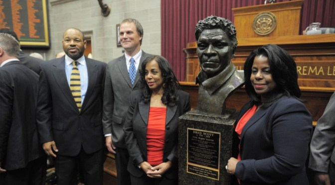 Special Interest Feature: Dred Scott Immortalized on May 9, 2012 By Missouri Artist Sculptor, E.S. Schubert