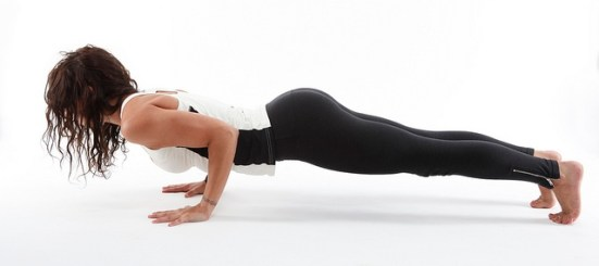Holding the plank position strengthens the core along with muscles even the calves  get stronger and may help prevent shin splints