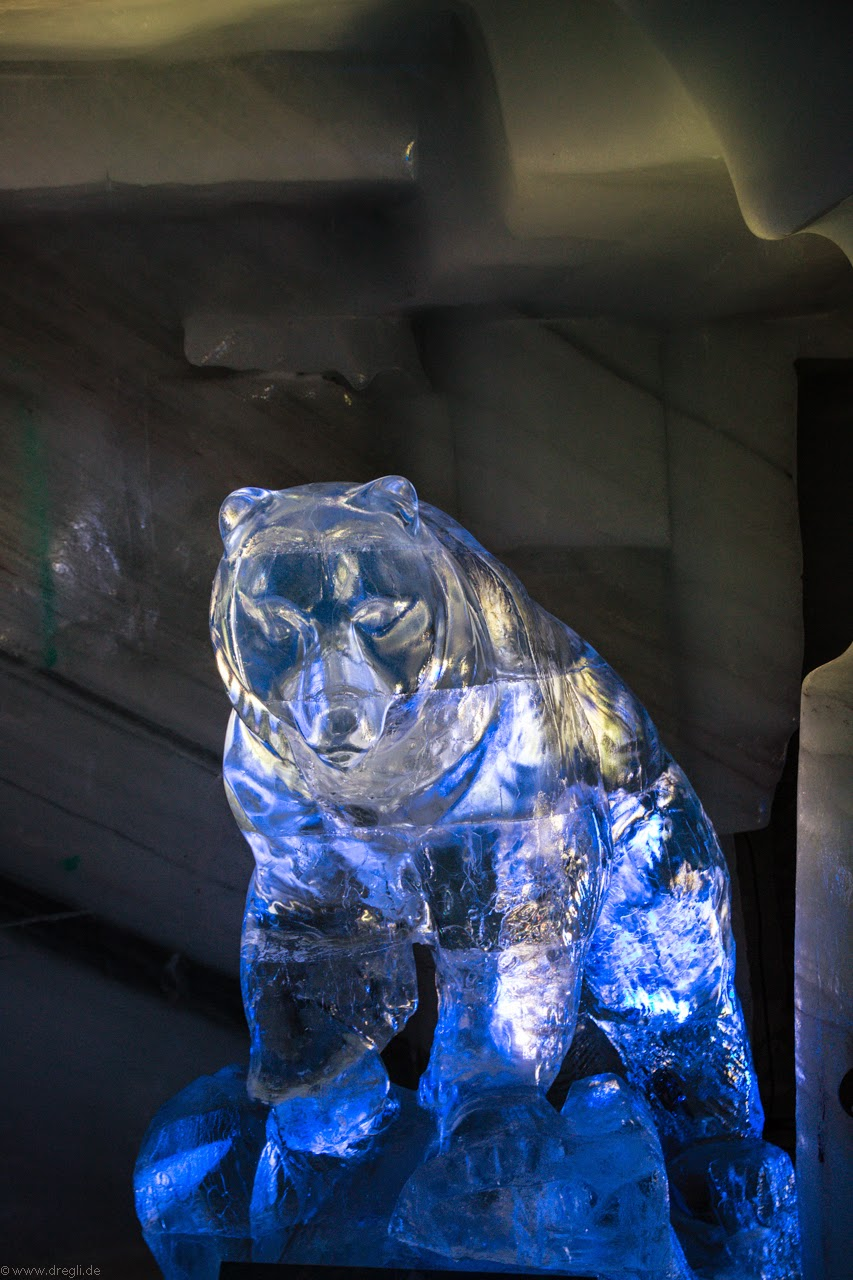 Skulpturen aus Eis 2