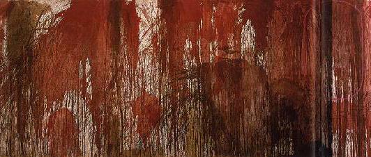Nitsch: Blutorgelbild 1962_Detail