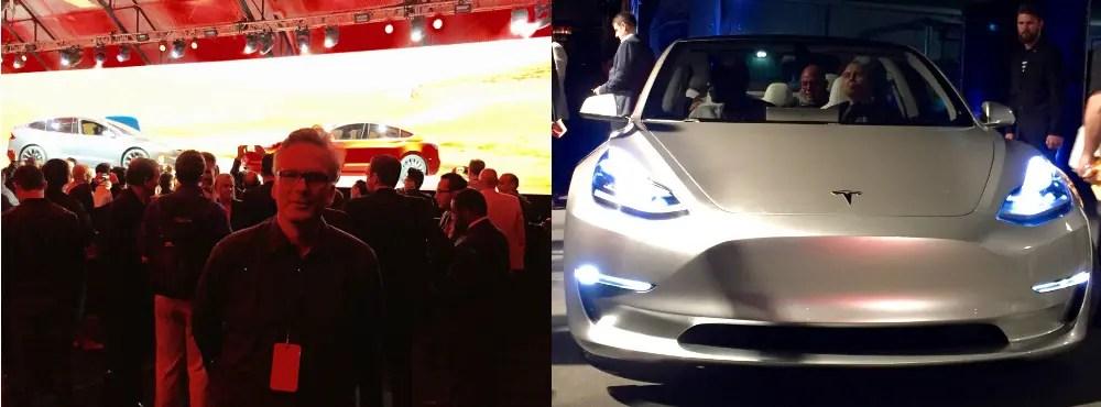 Tesla Model 3 Präsentation