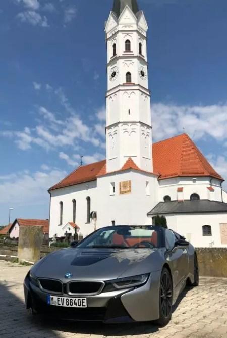 BMW i8 Roadster in Bayern