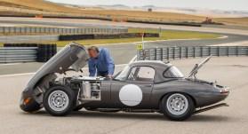 Originalgetreuer Nachbau Jaguar E-Type Lightweight