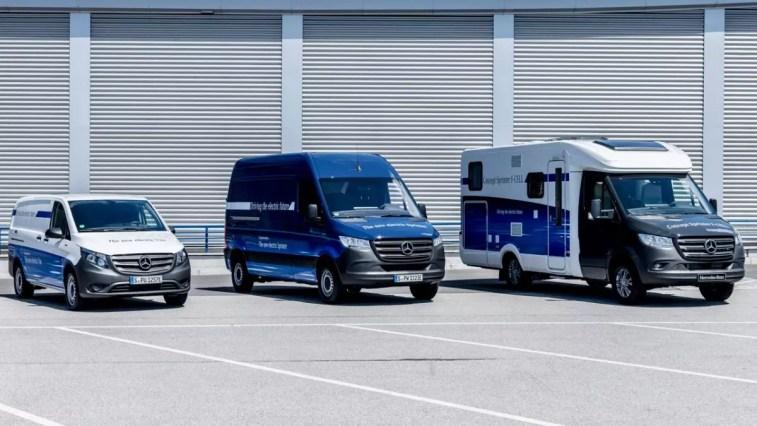 Daimler Vito und Sprinter mit Wasserstoff