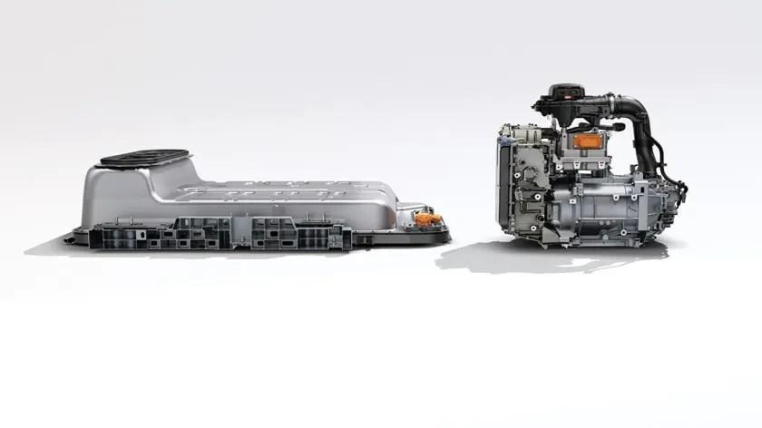 Renault Zoe Batterie und Motor