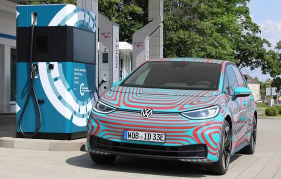 Mobile Ladesäule von VW
