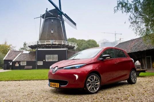 Renault Zoe (c) Renault Jeffrey van der Vaart