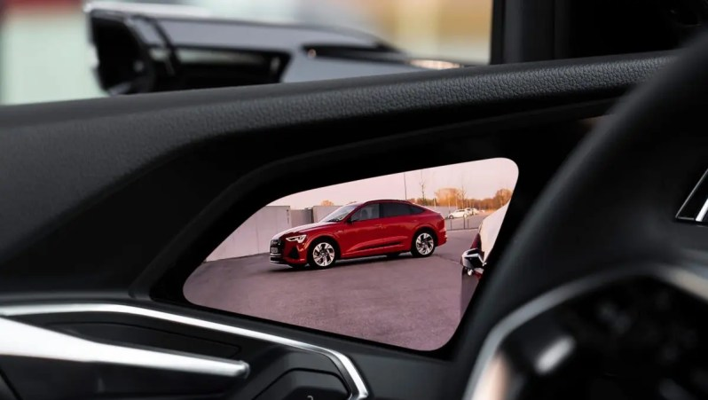 Audi e-tron Sportback Kamera Spiegel