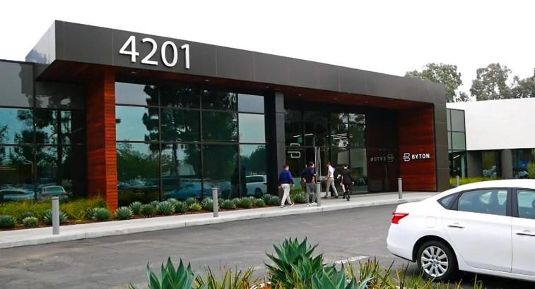 Byton Büro in Santa Clara