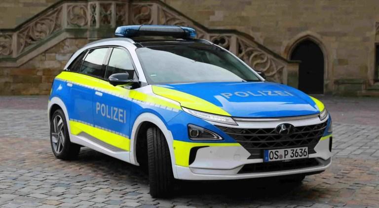 Hyundai Nexo Polizei Osnabrück