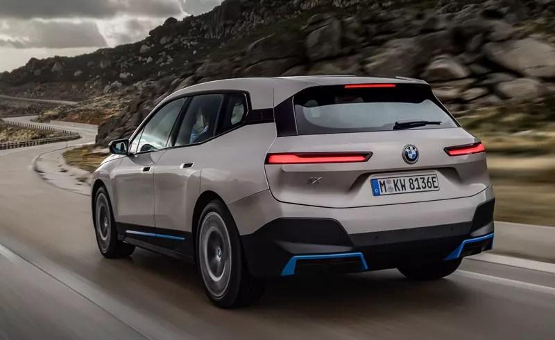 BMW iX Heck