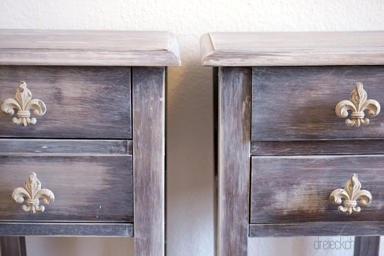 Vintage Möbel im modernen Zuhause sind schwer im Trend