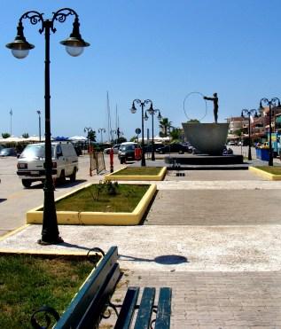 Lixouri harbour promenade