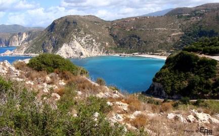 looking to Petani from Agia Eleni