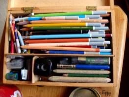 chalk pencils