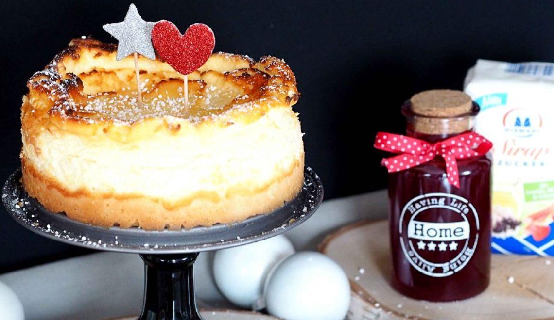 dreiraumhaus kaesekuchen rezept diamant sirup zucker