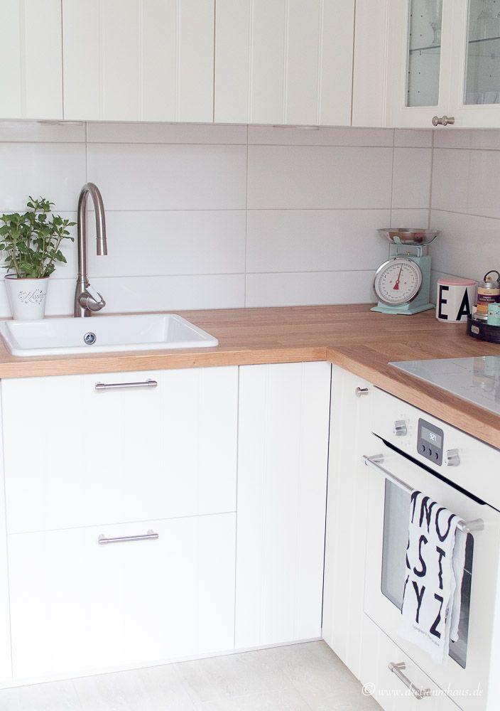 Küchenschrank ikea  Ikea Hittarp Landhausküche...ein Raum der glücklich macht!