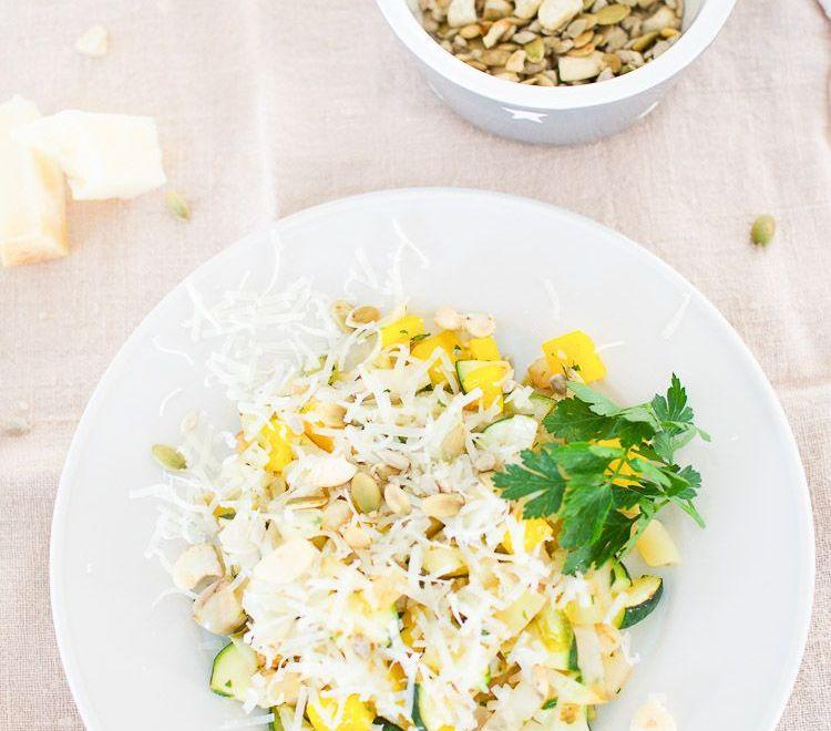 Ein vegetarisches Rezept: Die leckerste und schnelle Gemüsepfanne im YUMMIE! Montagsmampf...
