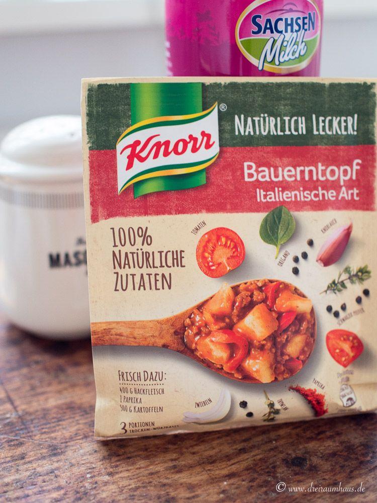 Das schnellste und leckerste Tomatenbrot ohne Hefe mit Knorr Natürlich Lecker!