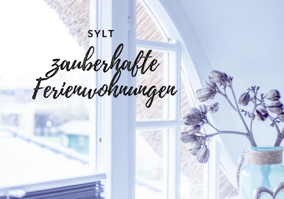 Alter Konsumverein Sylt - zauberhafte Ferienwohnung in Westerland! Die schönsten Ferienwohnungen auf Sylt...der alte Konsumverein in Westerland!
