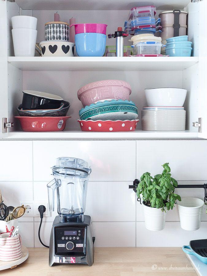 Ordnungssamstag! Aufbewahrung im Küchenschrank!