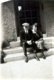 Dreiser and Helen Richardson in Hollywood 1920; courtesy Rare Book and Manuscript Library, University of Pennsylvania