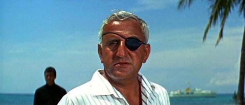 Emilio Largo (Adolfo Celi) dans Opération Tonnerre