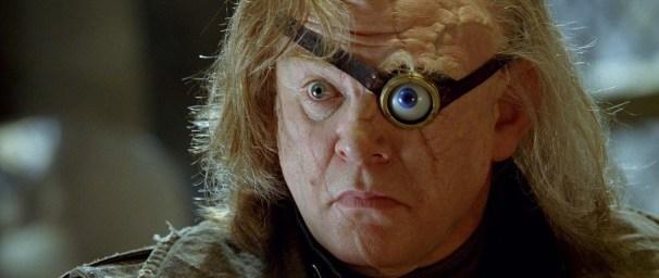Maugrey Fol Œil (Brendan Gleeson) dans les Harry Potter