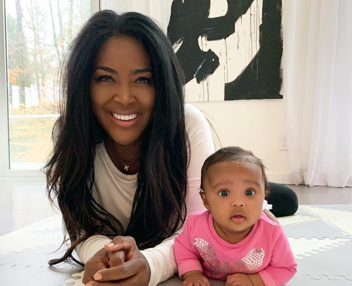 Sexy Black Celebrities With Beautiful Baby Girls