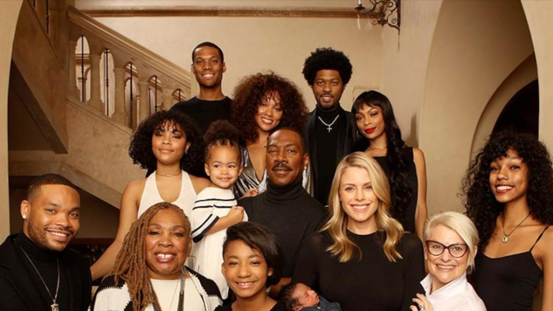 black celebrities with huge families