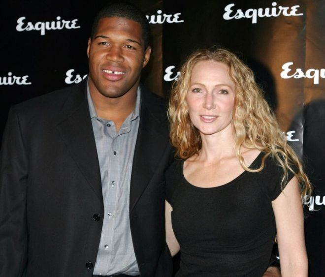 Michael Strahan and ex-wife Jean Muggli