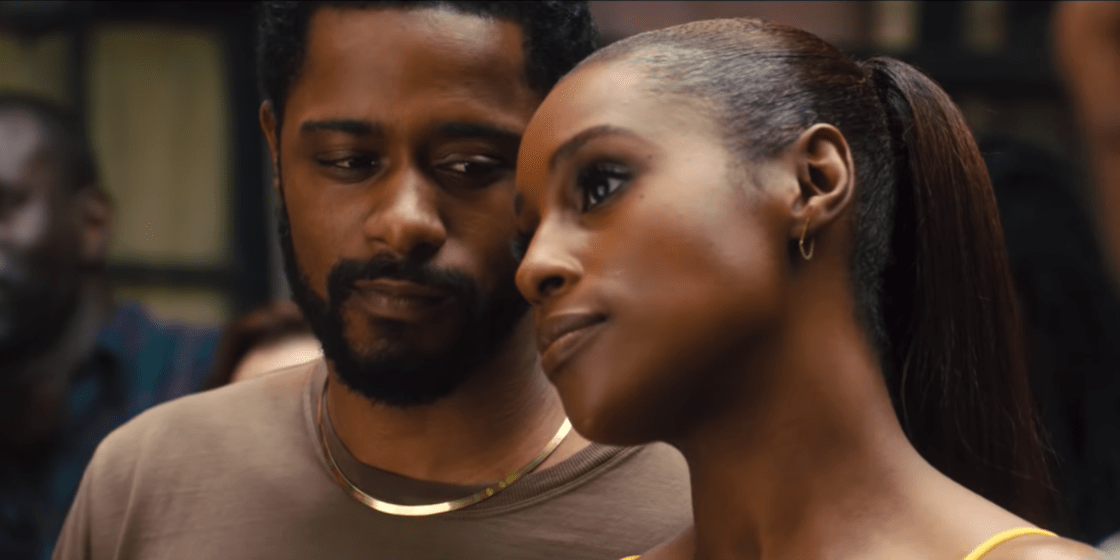 issa rae and lakeith stanfield in the photograph