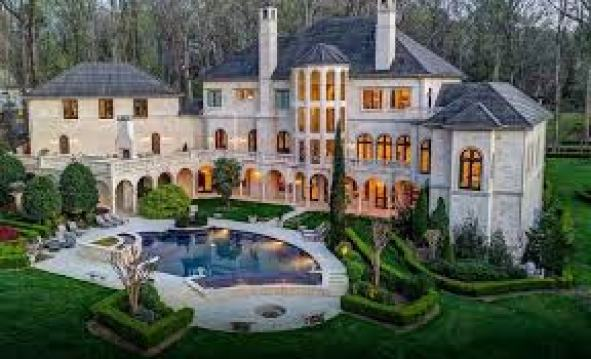 cardi b and offset mansion