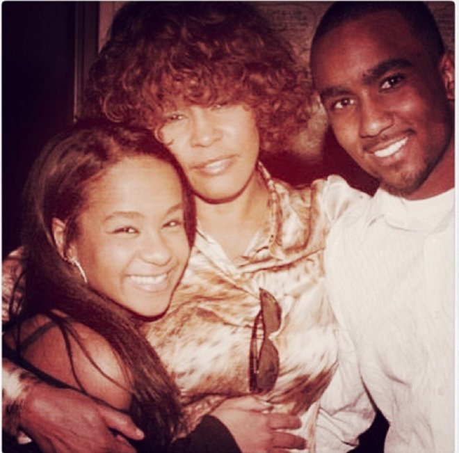 whitney, bobbi kris, nick gordon