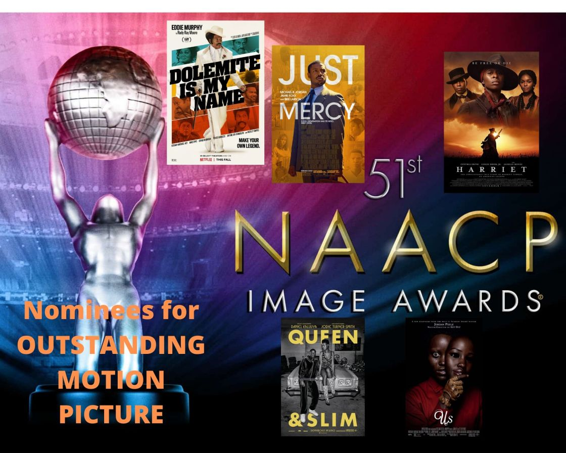 NAACP Image Award Nominees for Outstanding Motion Picture