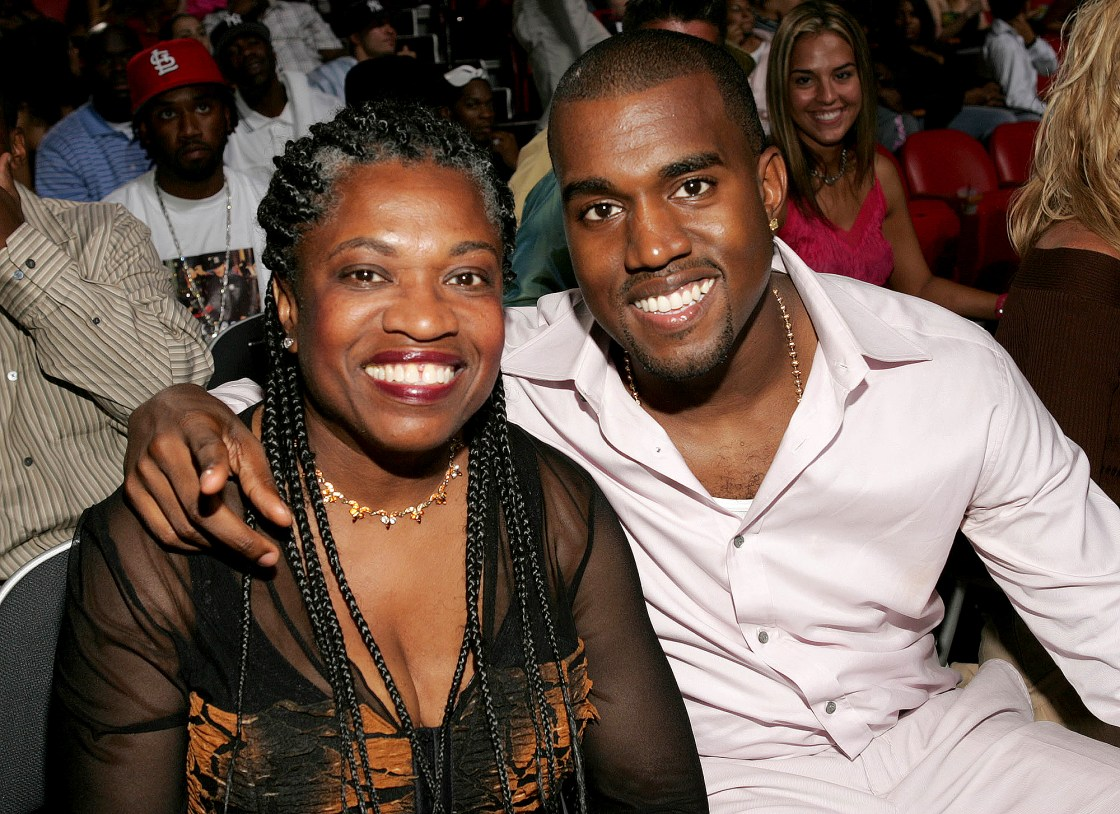 kanye west and mom